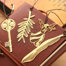 1pc Hollow Metal Bookmark