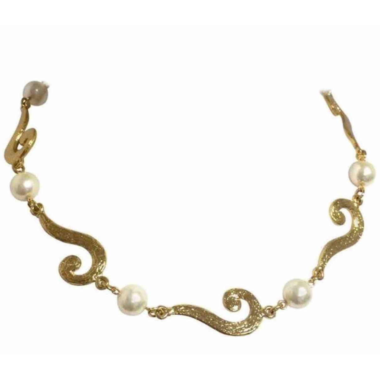 Moschino \N Gold Gold plated necklace for Women \N