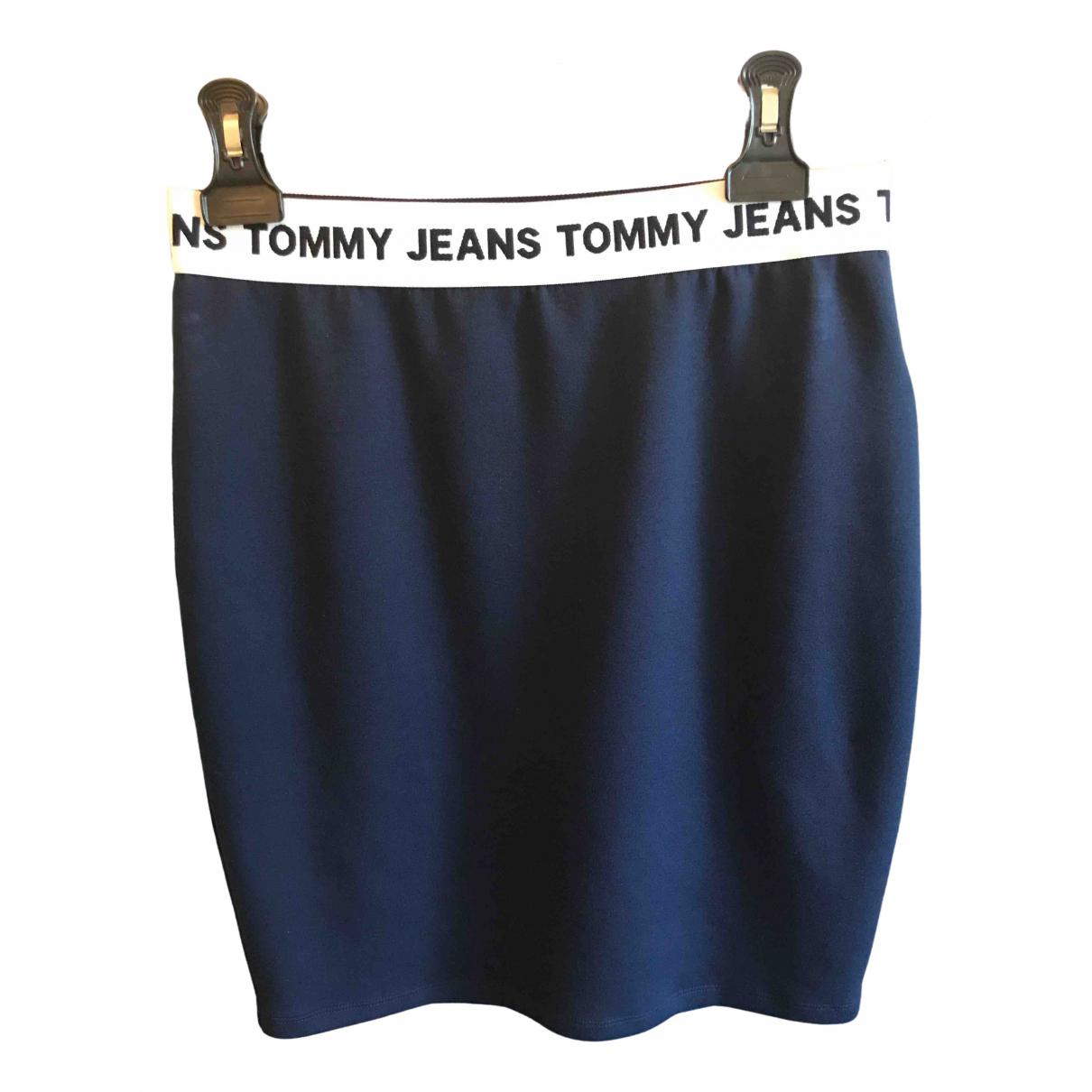 Tommy Jeans \N Rocke in  Blau Viskose
