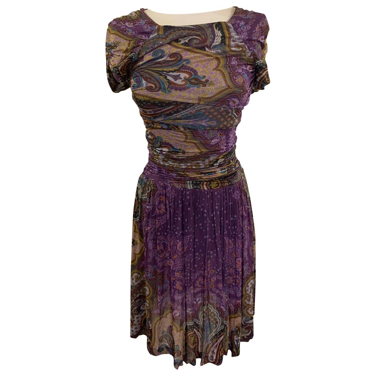Etro \N Purple dress for Women 42 IT