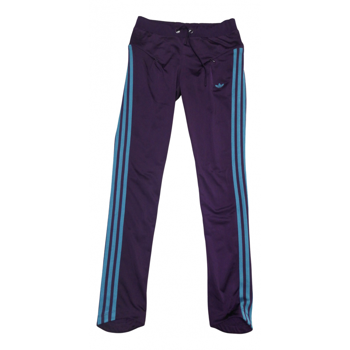 Adidas \N Hose in  Lila Polyester