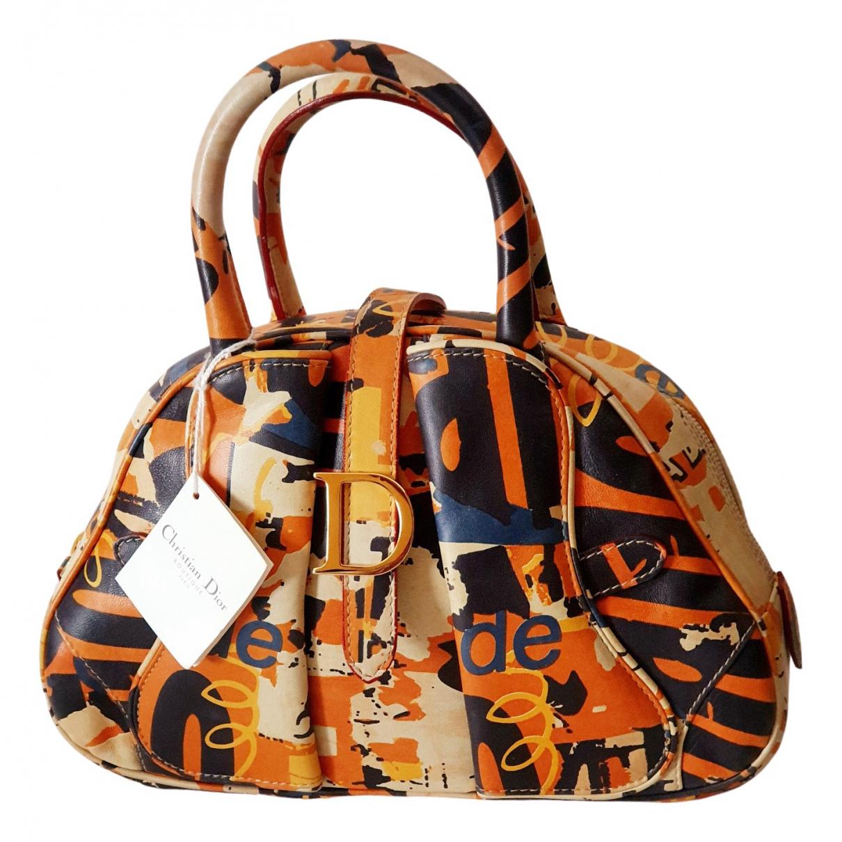 Bolso  Saddle Bowler de Cuero Dior