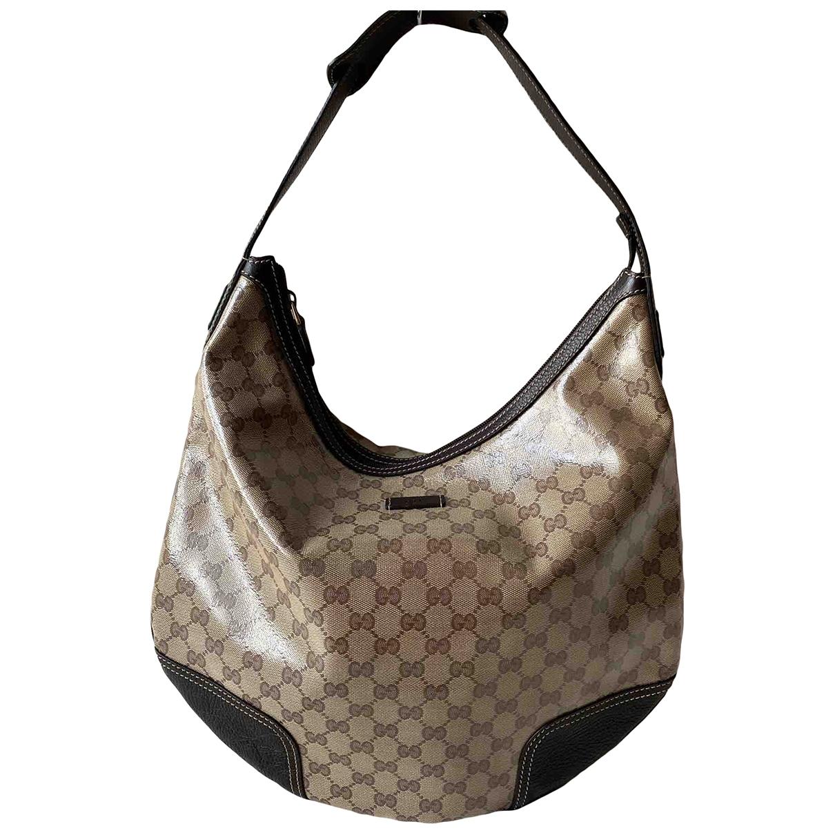 Gucci Hobo Beige Cloth handbag for Women \N