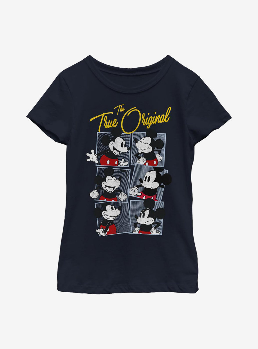 Disney Mickey Mouse Boxed Mickey Youth Girls T-Shirt