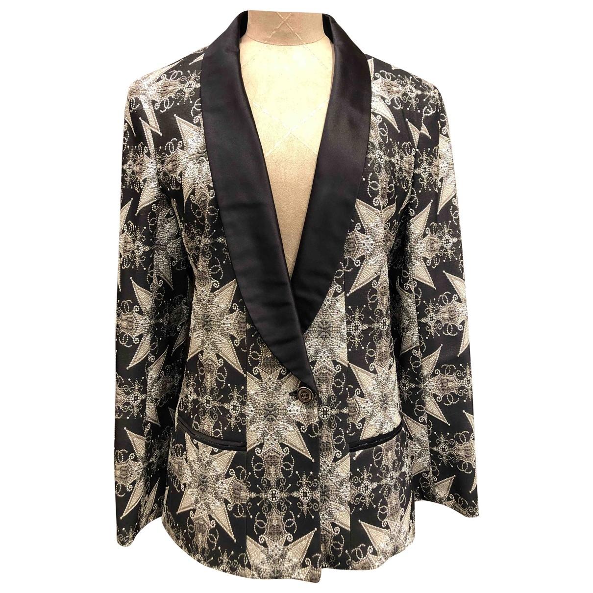 Chanel - Veste   pour femme - argente