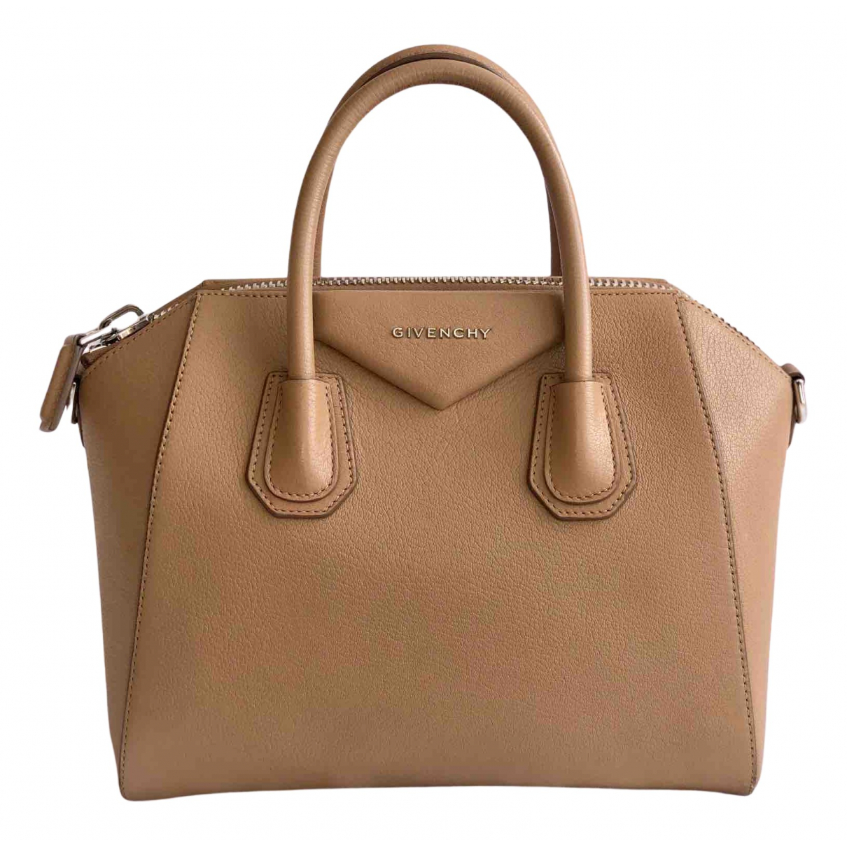Givenchy Antigona Camel Leather handbag for Women N
