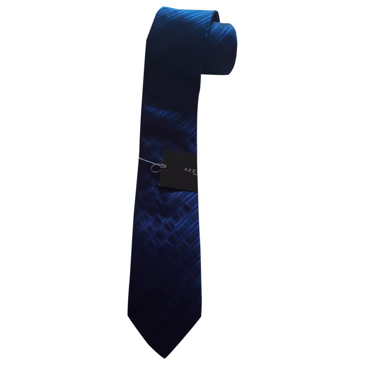Azzaro \N Blue Silk Ties for Men \N