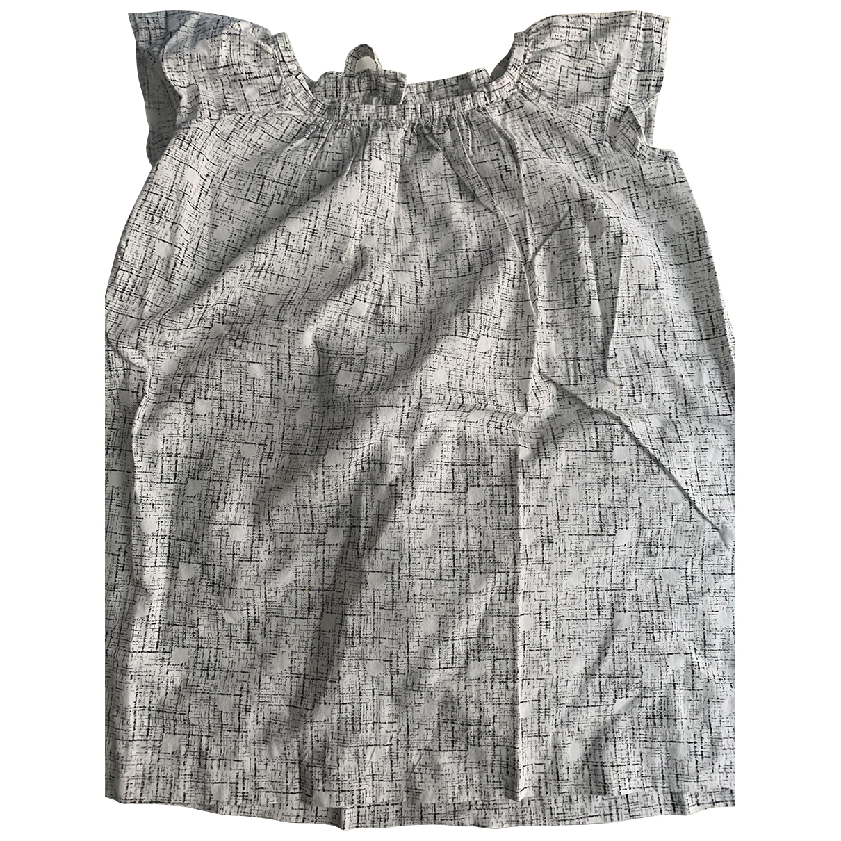 Bonpoint \N Kleid in  Weiss Baumwolle