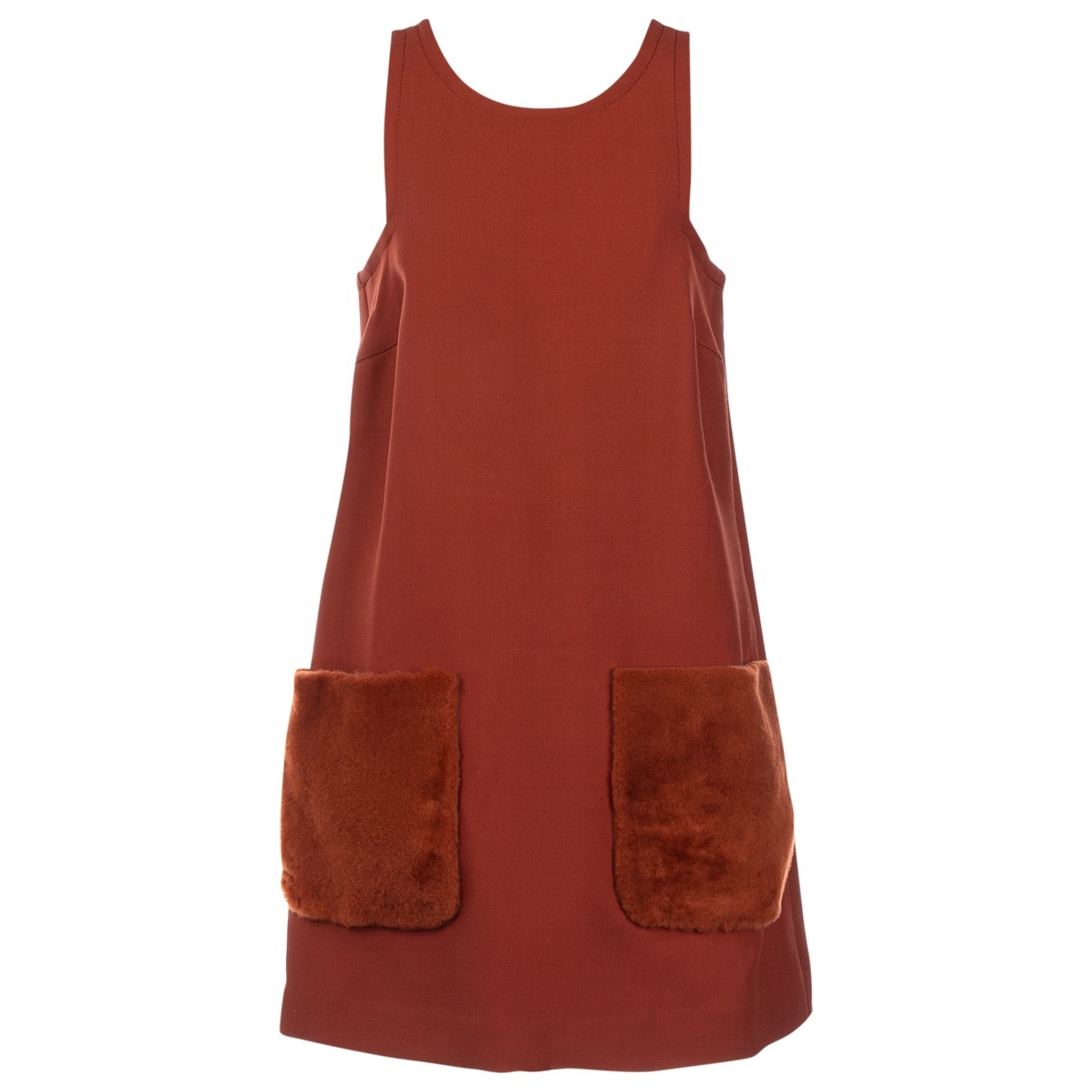 Fendi \N Brown dress for Women 36 IT