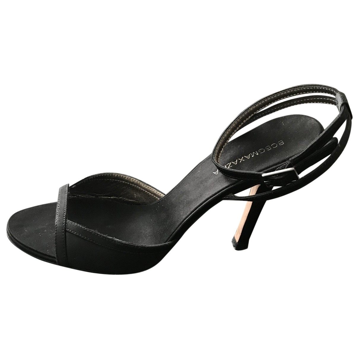 Bcbg Max Azria \N Black Suede Heels for Women 36 EU