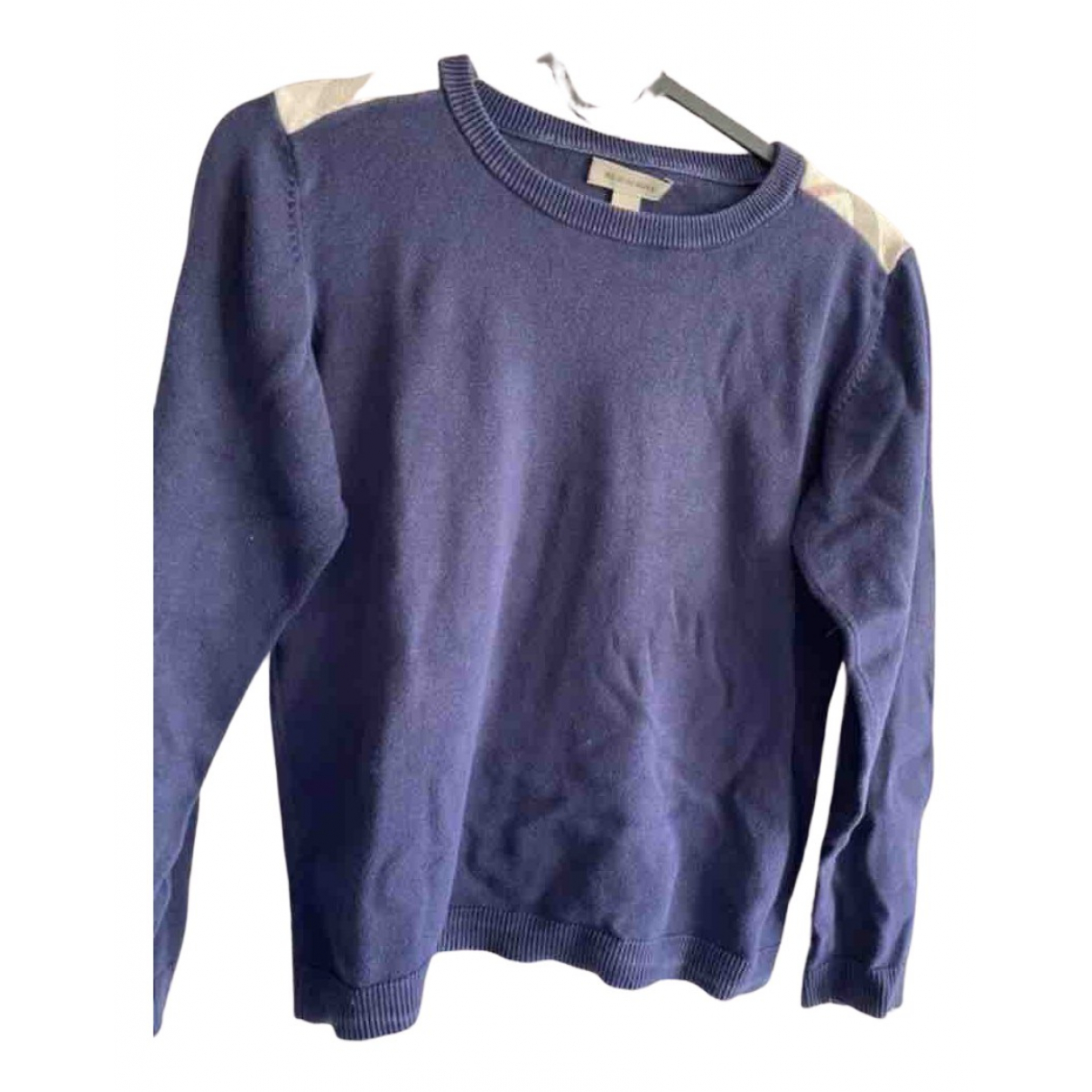 Burberry N Navy Cotton Knitwear for Kids 10 years - up to 142cm FR