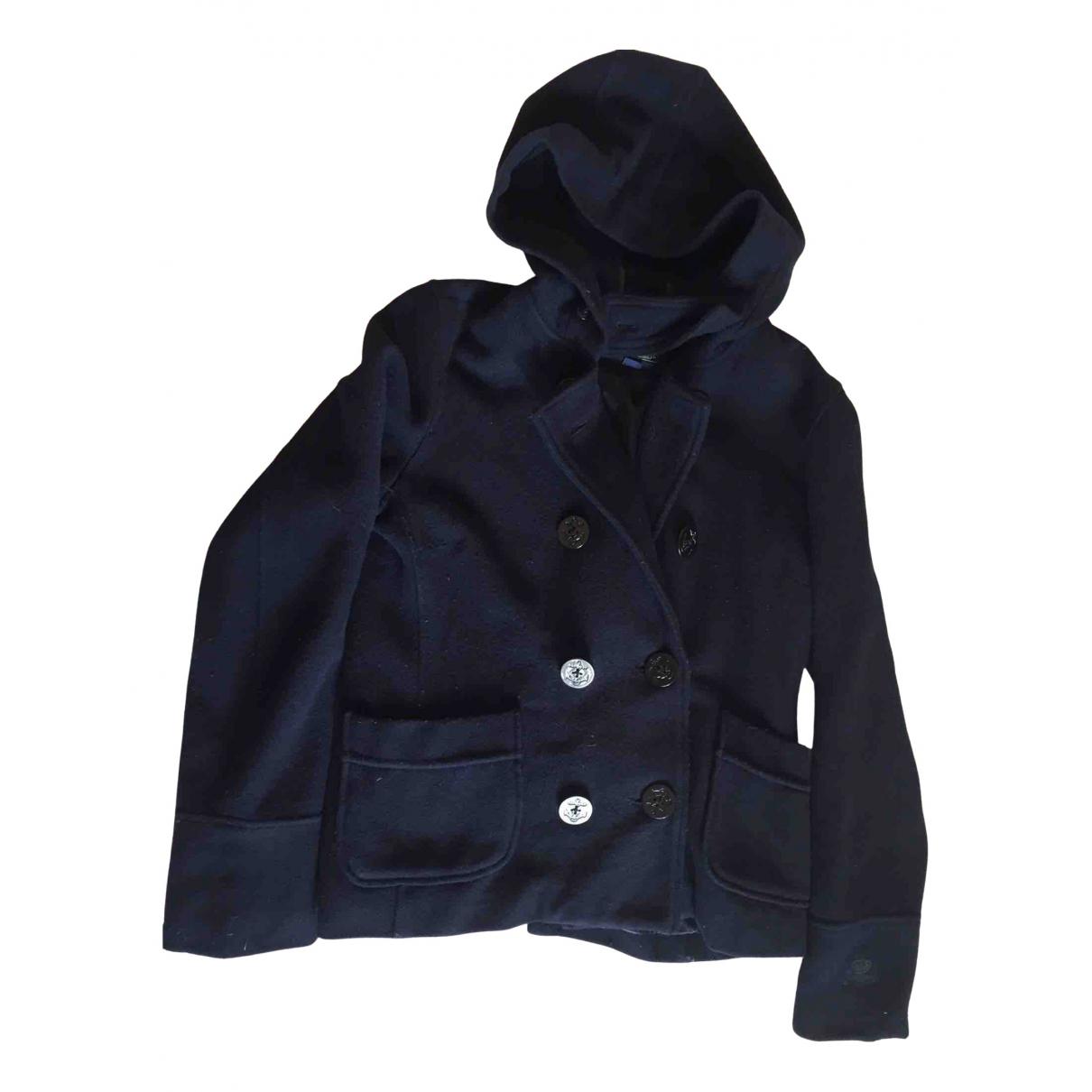 Polo Ralph Lauren N Blue Wool coat for Women M International