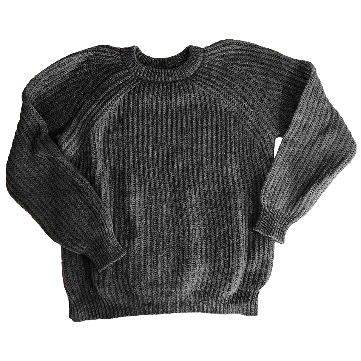Zara \N Pullover in  Grau Synthetik