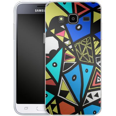 Samsung Galaxy J3 (2016) Silikon Handyhuelle - Urban Reinaissance von Barruf