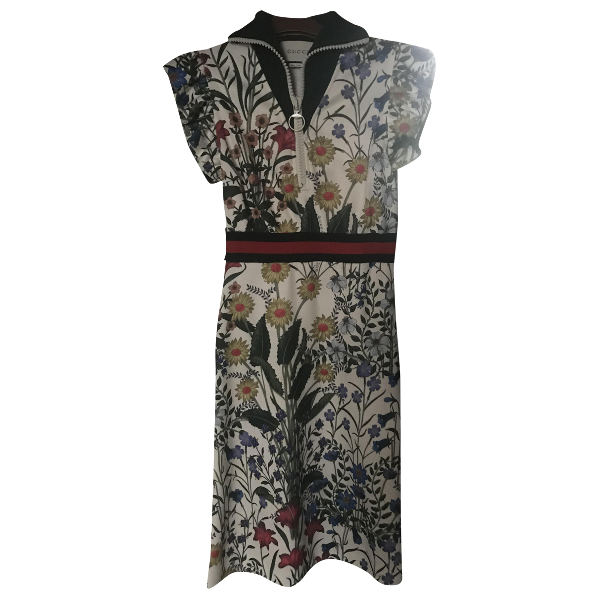 Gucci \N Kleid in  Bunt Polyester