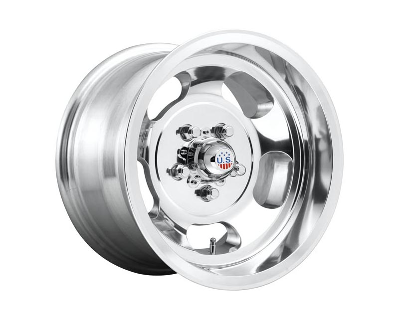 Us Mag U101 Indy Wheel 15x10 5X5.5 -50mm High Luster Polished