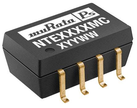 Murata Power Solutions NTE 1W Isolated DC-DC Converter Surface Mount, Voltage in 4.5 → 5.5 V dc, Voltage out 5V