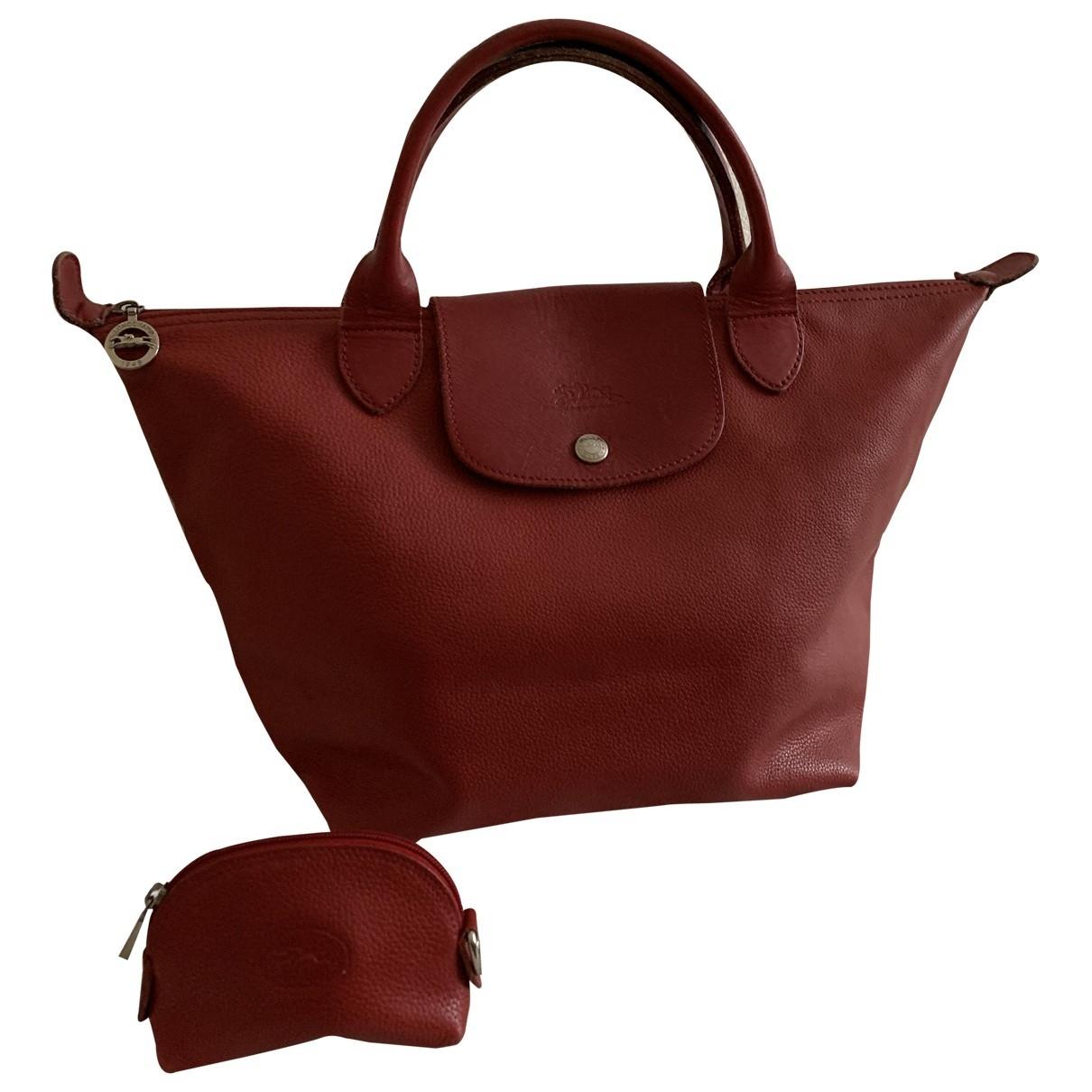 Bolso  Pliage  de Cuero Longchamp