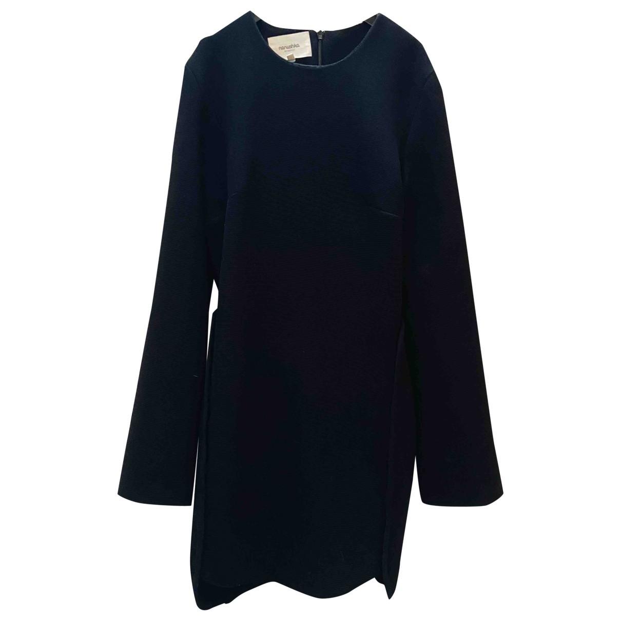 Nanushka \N Kleid in  Schwarz Polyester