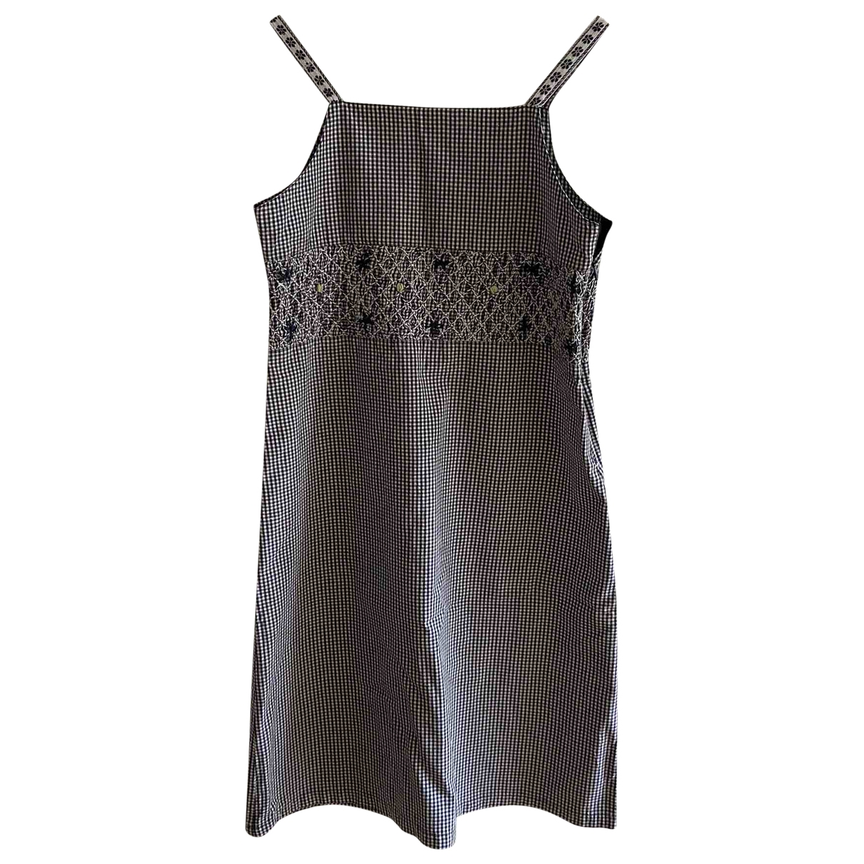 Non Signé / Unsigned \N Green Cotton dress for Women XS