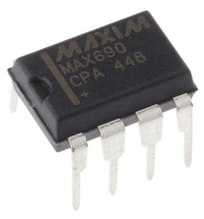 Maxim Integrated MAX690CPA+, Processor Supervisor 4.65V , WDT 8-Pin, PDIP (50)