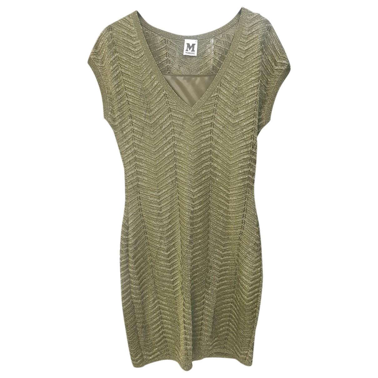 M Missoni \N Kleid in  Gruen Baumwolle - Elasthan