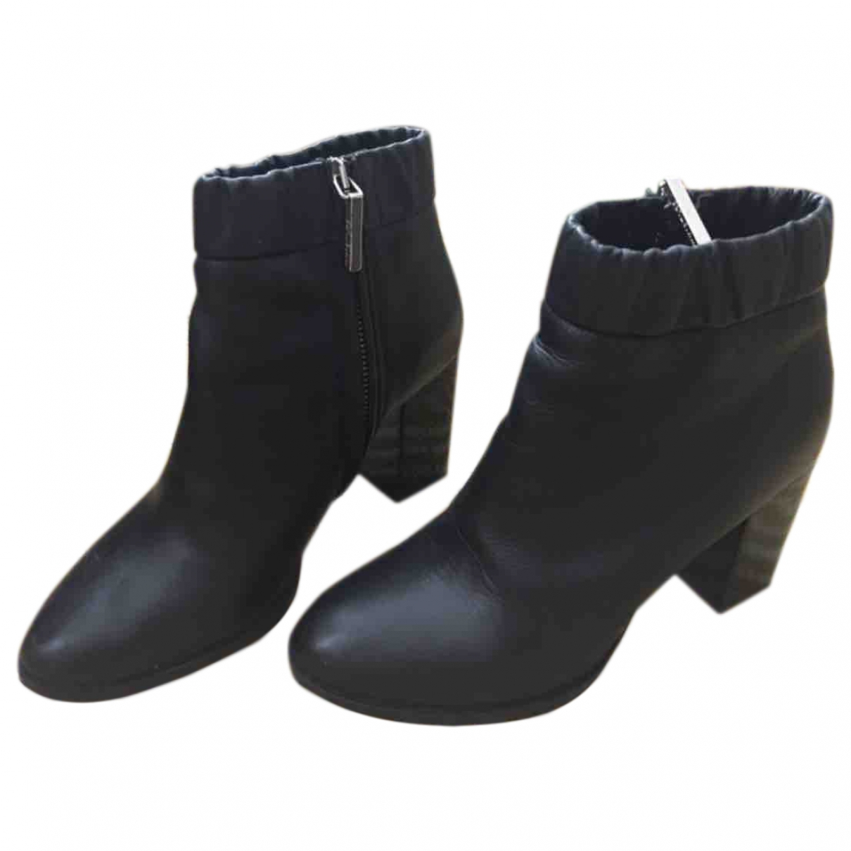 Whistles \N Black Leather Boots for Women 3.5 UK