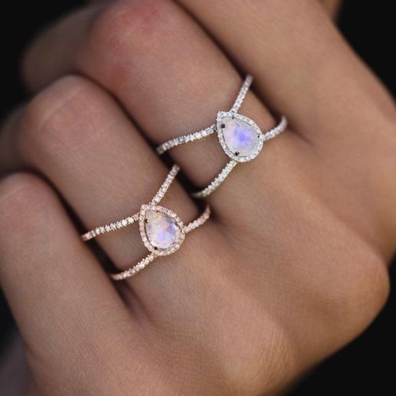 Ericdress Diamante Bronze Romantic Ring