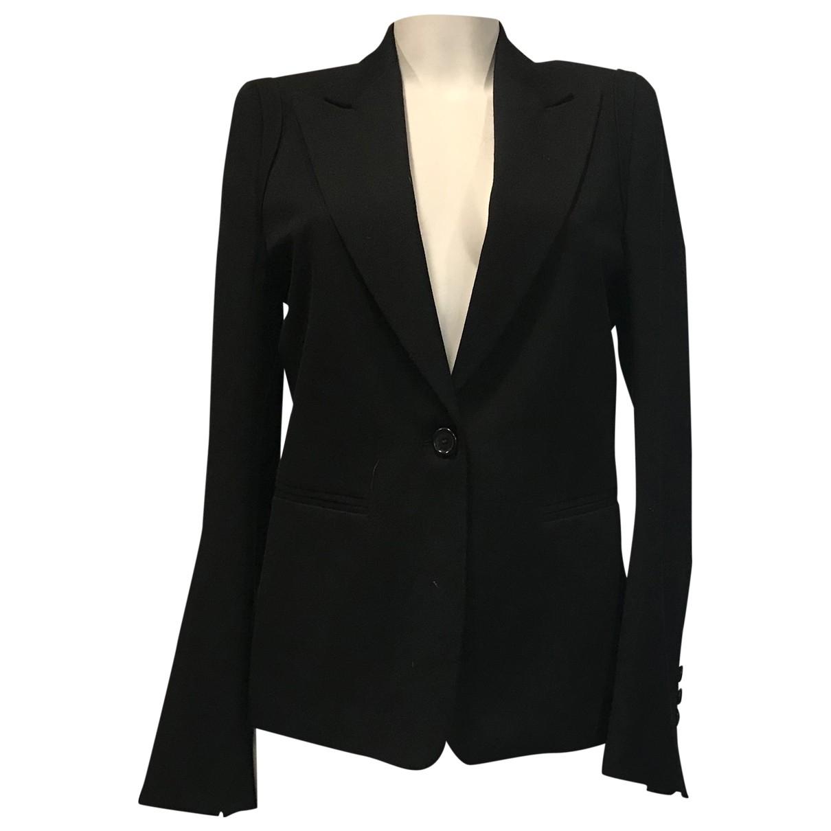 Ann Demeulemeester N Black Wool jacket for Women 38 FR