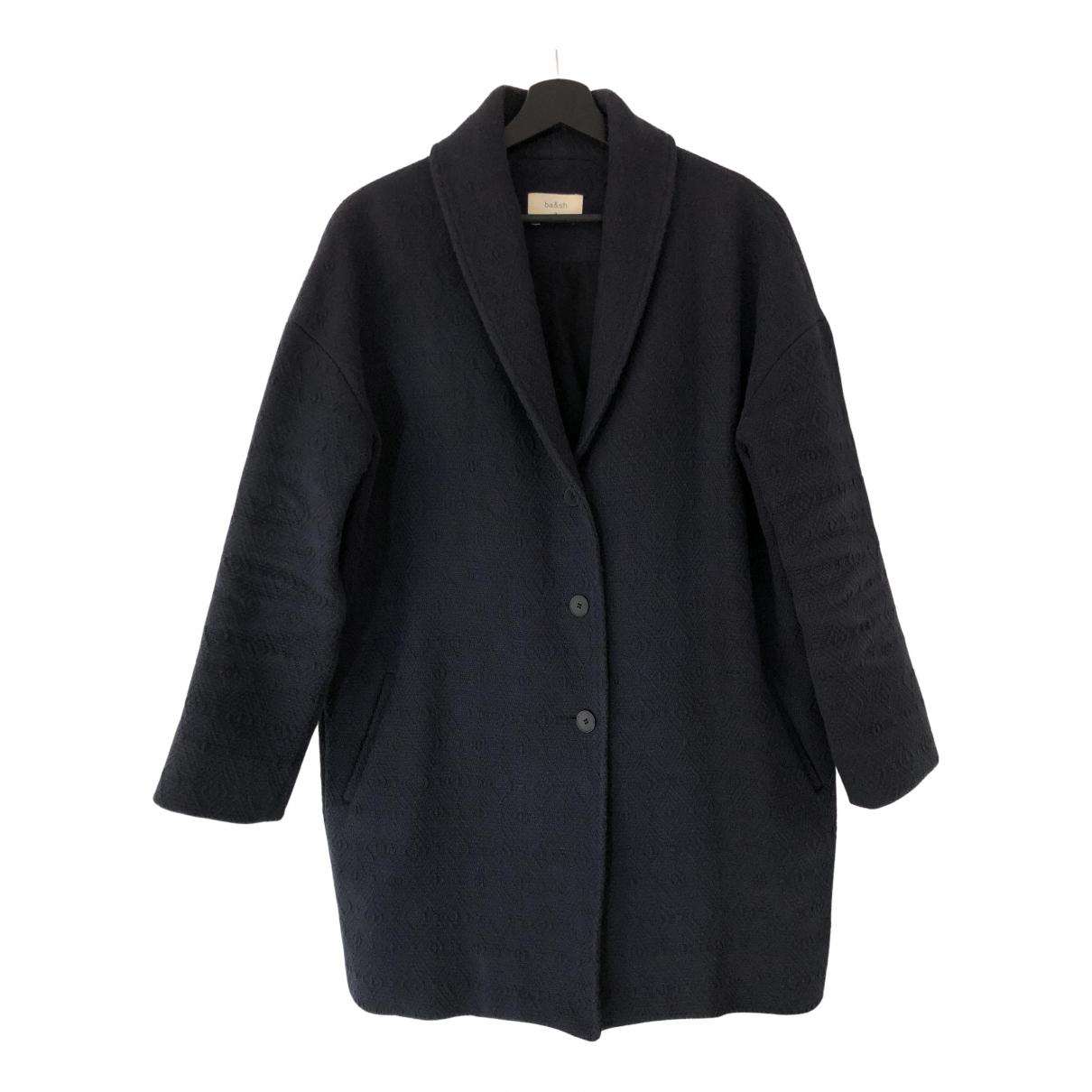 Ba&sh \N Navy Cotton coat for Women 2 0-5
