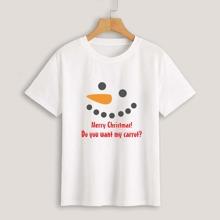 Christmas Slogan Graphic Tee