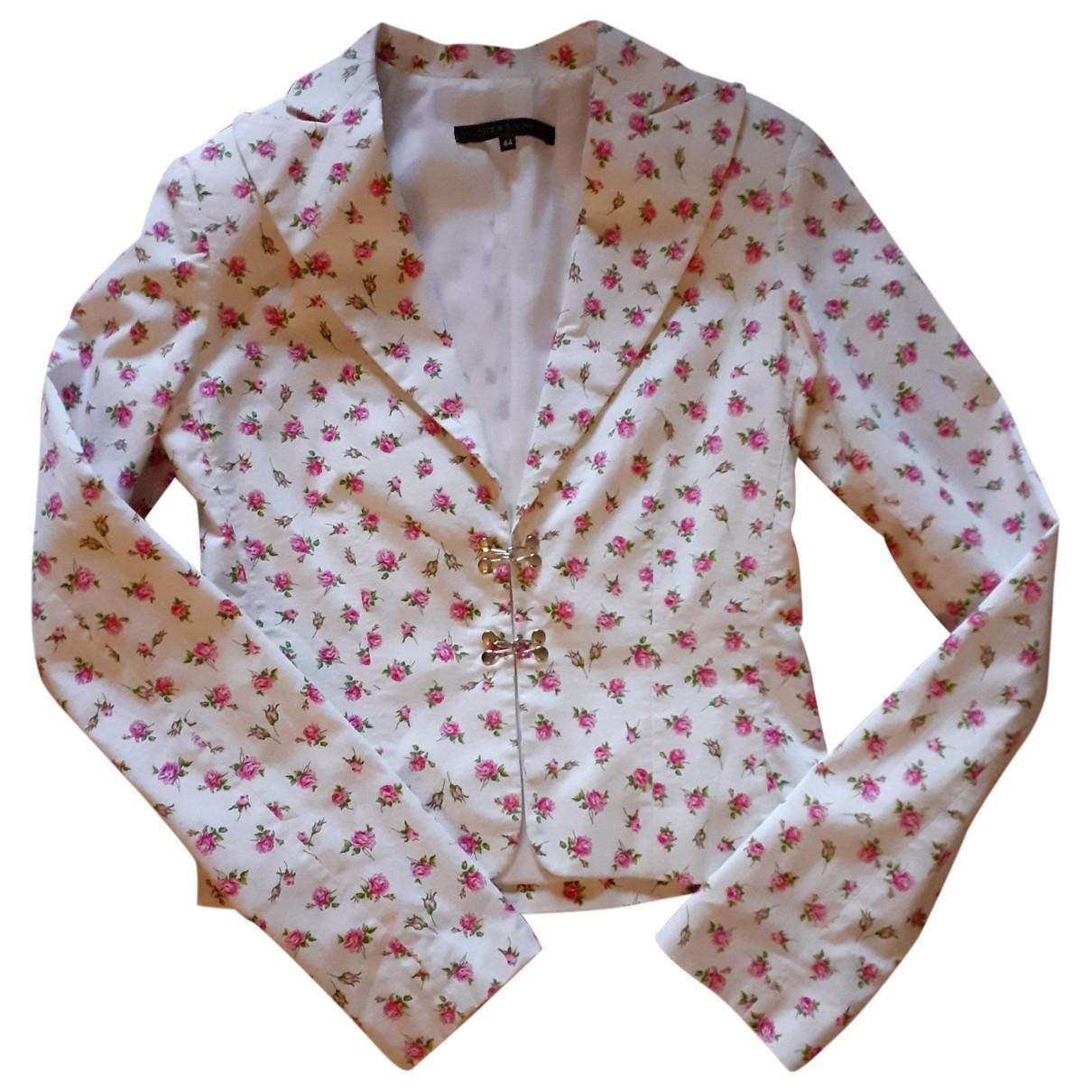 - Veste   pour femme en coton - blanc