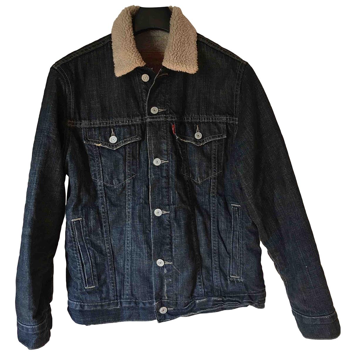 Levi's \N Navy Denim - Jeans jacket  for Men M International