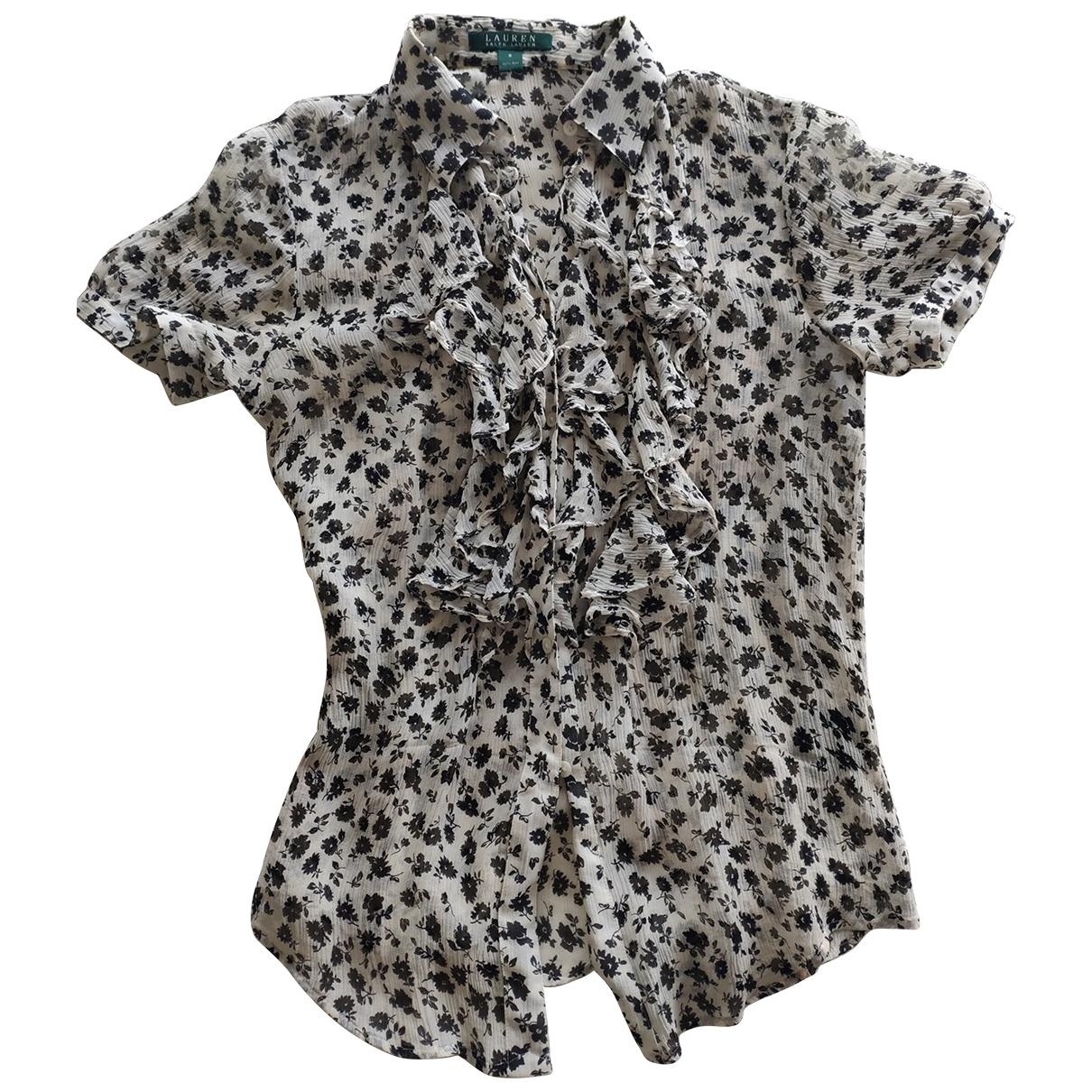 Lauren Ralph Lauren \N Ecru Silk  top for Women S International