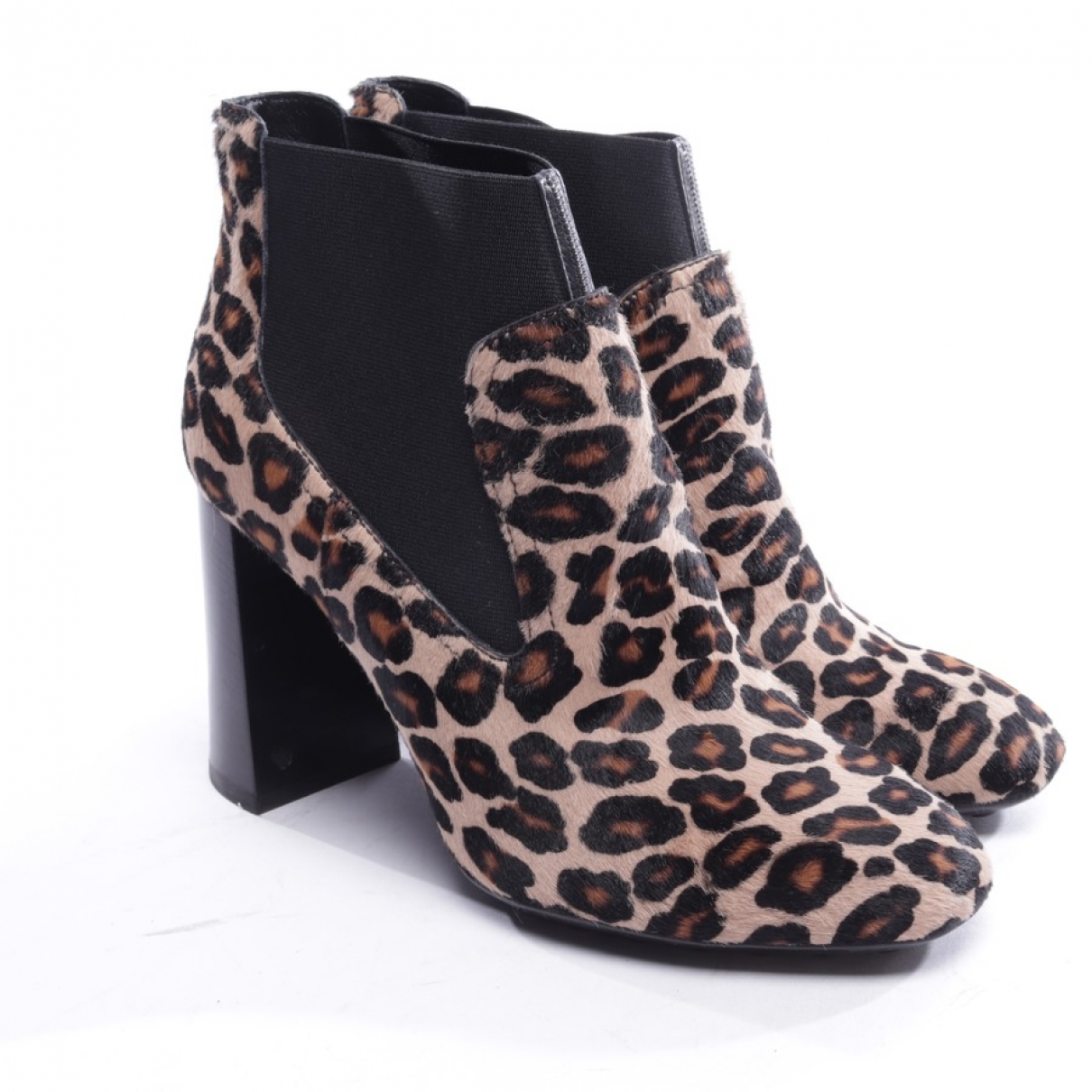 Tod's \N Multicolour Pony-style calfskin Ankle boots for Women 36 EU