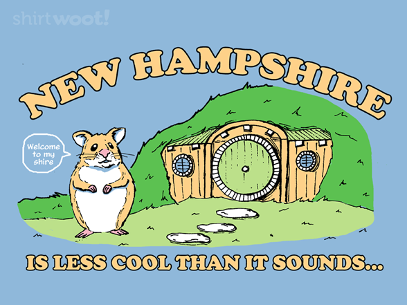 Hamster Shire T Shirt