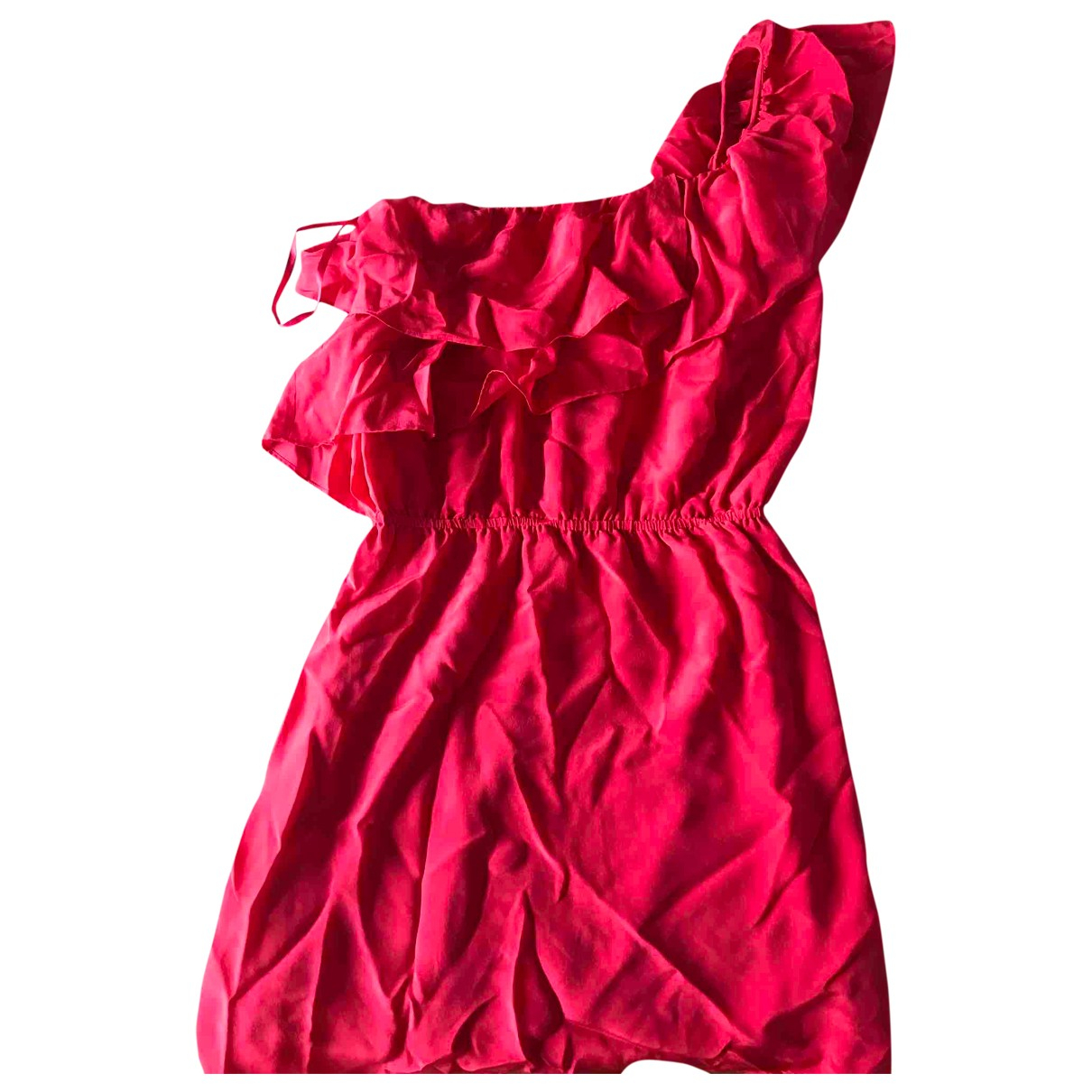 Bel Air \N Kleid in  Rosa Seide