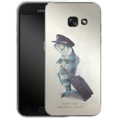 Samsung Galaxy A3 (2017) Silikon Handyhuelle - The Pilot von Eric Fan