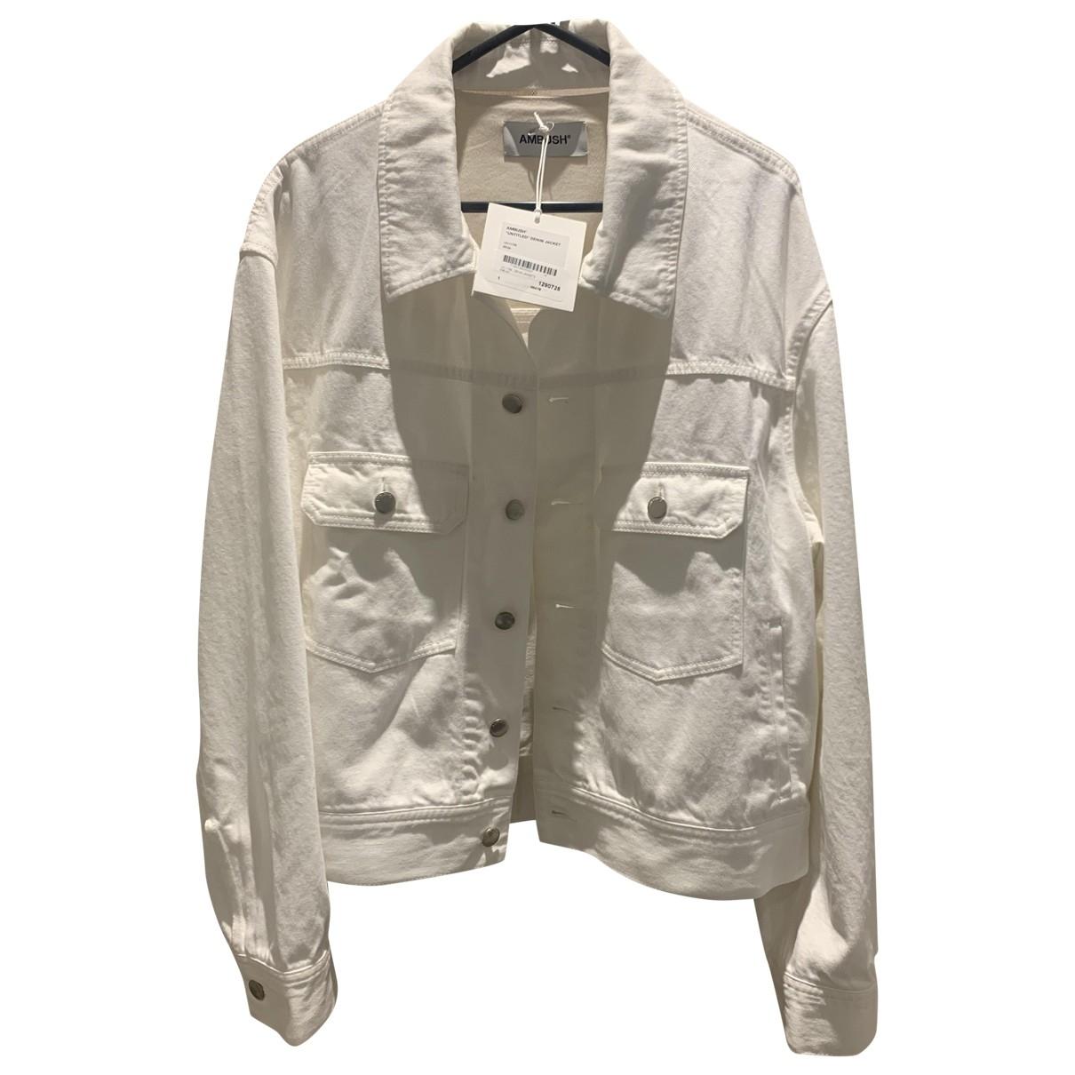 Ambush \N White Denim - Jeans jacket for Women 1 US