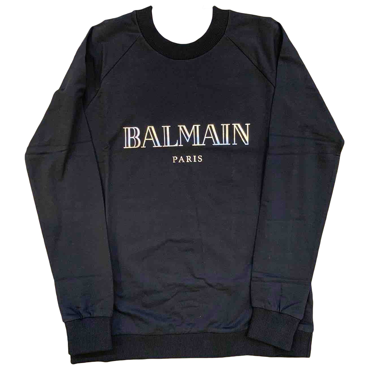Balmain \N Black Cotton Knitwear for Women 40 FR