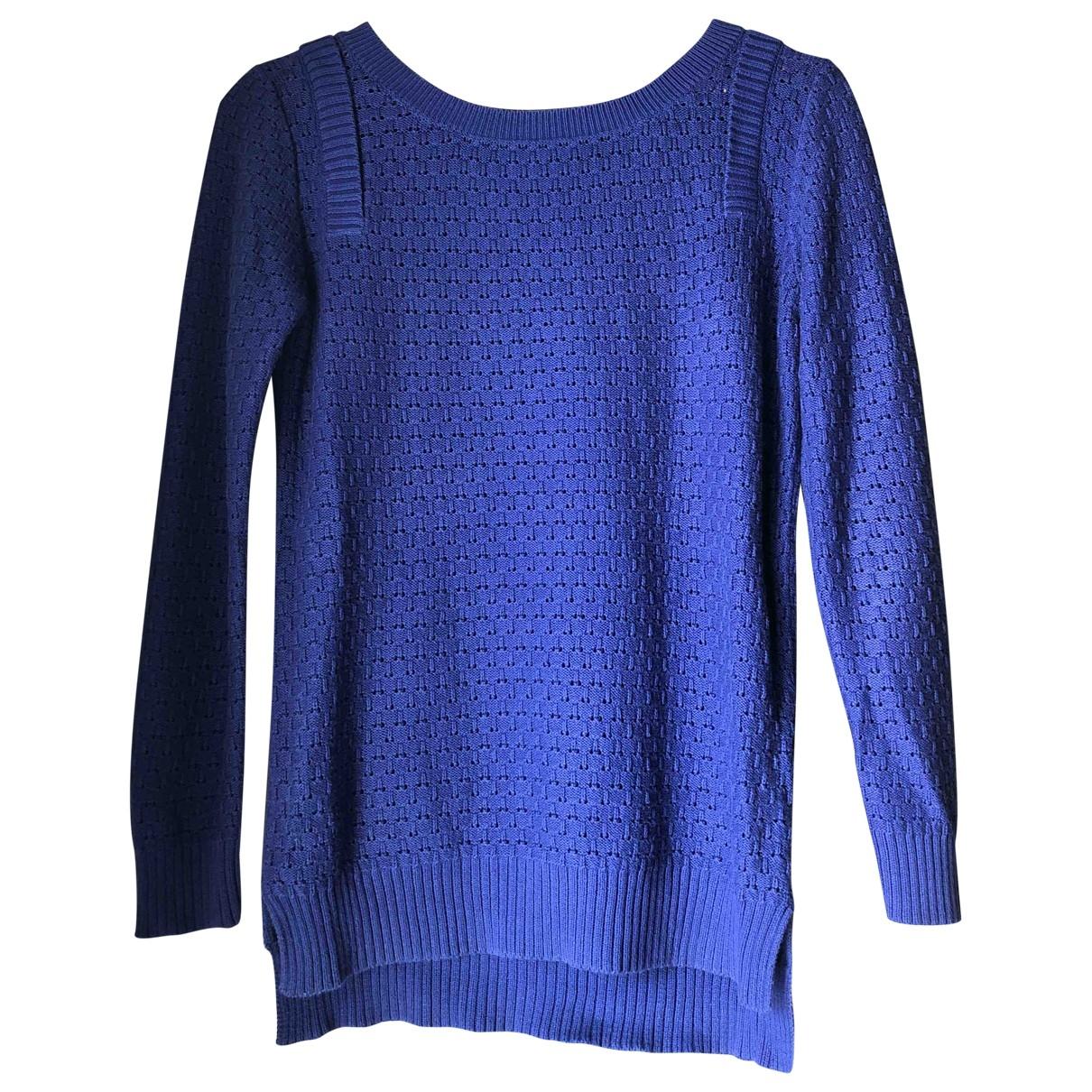 Claudie Pierlot \N Blue Cotton Knitwear for Women 2 US