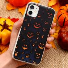 Halloween Pumpkin Print iPhone Case
