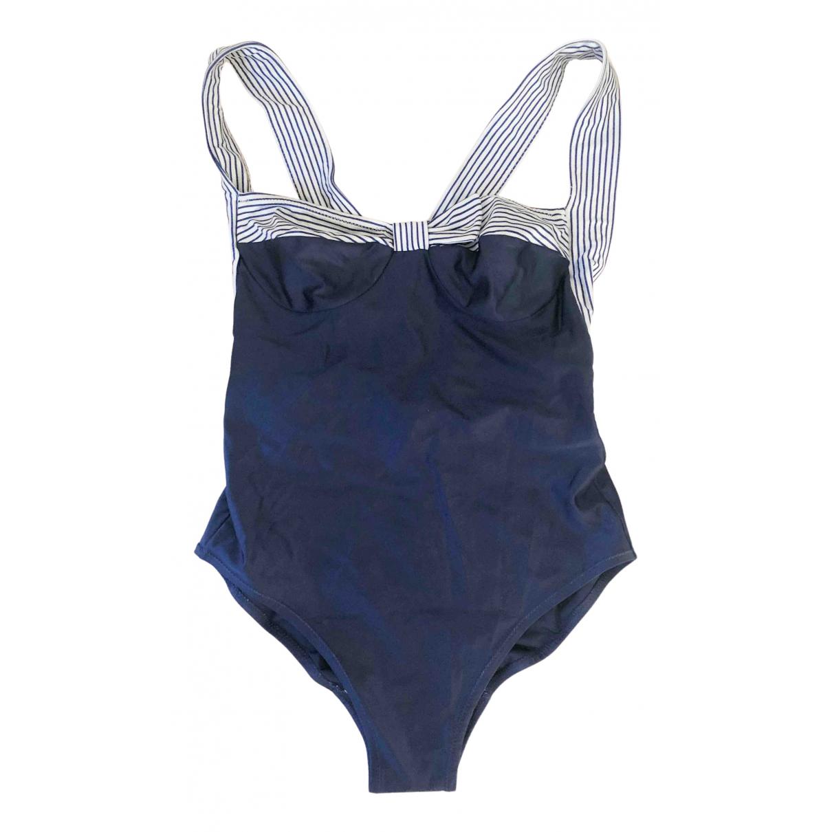 Diane Von Furstenberg - Bain   pour femme en lycra - bleu