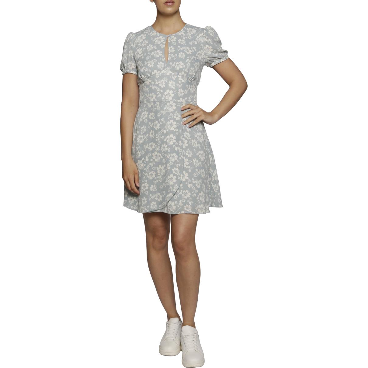 Alexa Chung \N Kleid in  Blau Polyester