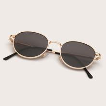 Kinder Sonnenbrille mit metallischem Rahmen
