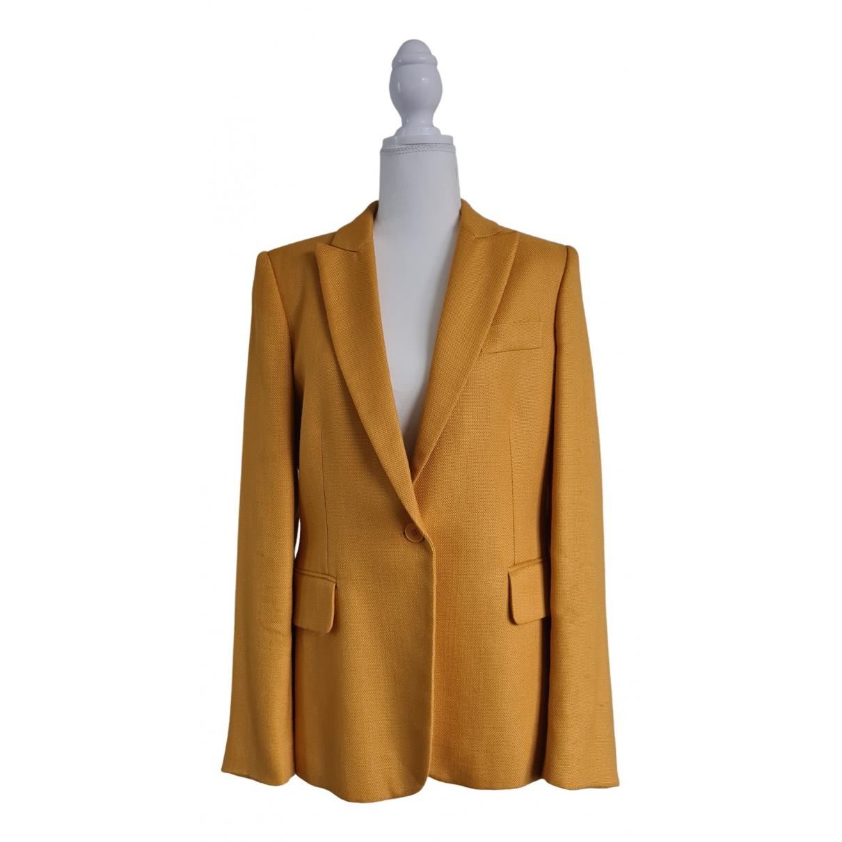 Stella Mccartney - Veste   pour femme - jaune