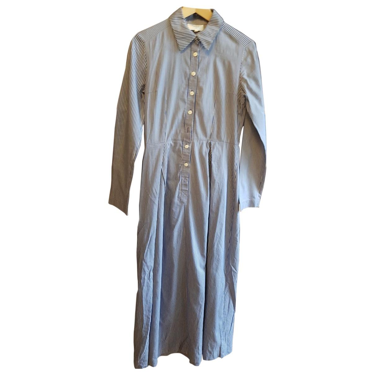 Tara Jarmon \N Kleid in  Blau Baumwolle