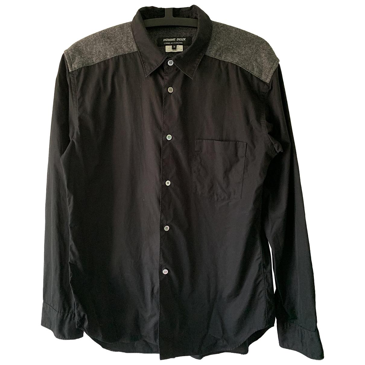 Comme Des Garcons \N Hemden in  Schwarz Baumwolle