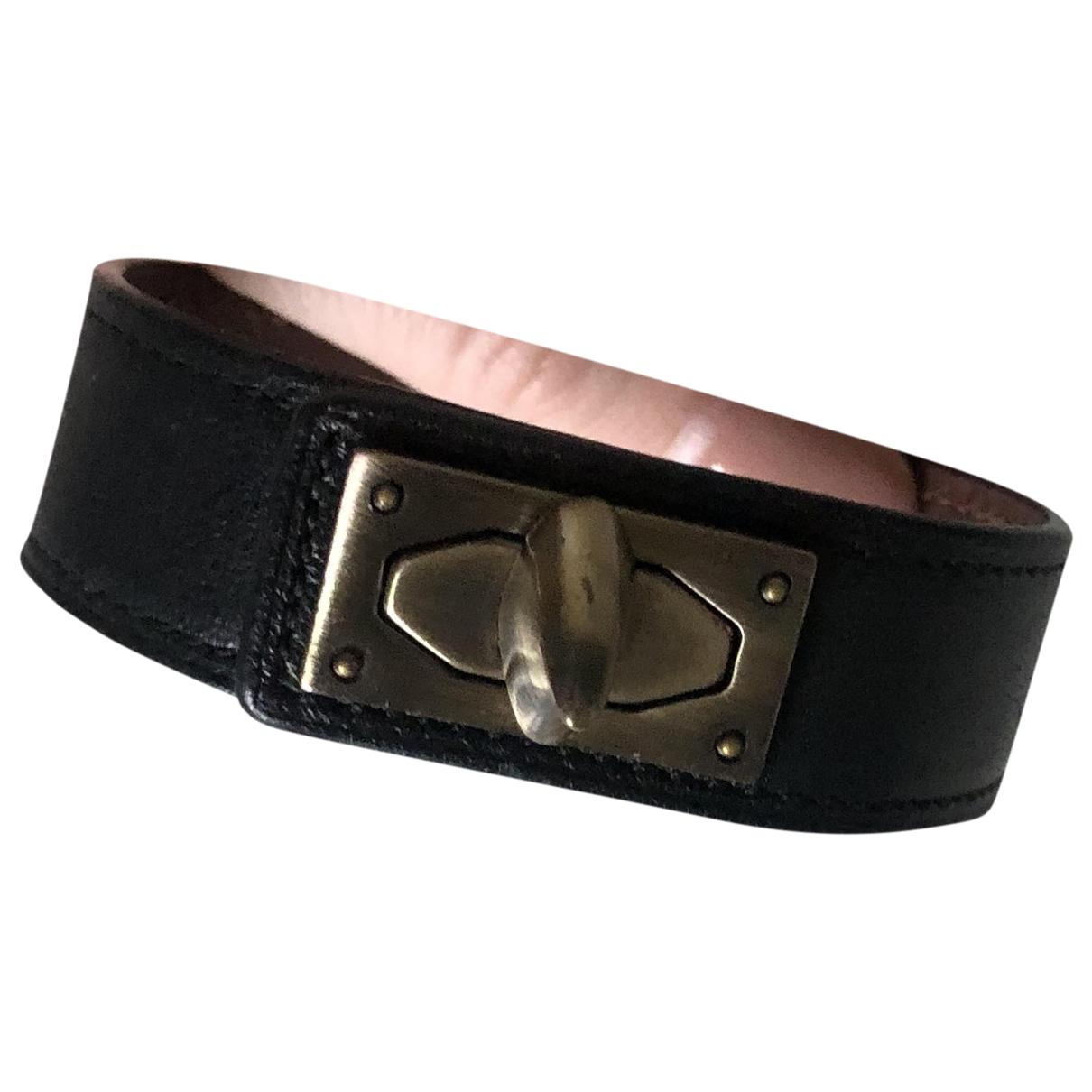 Givenchy Shark Black Leather bracelet for Women \N