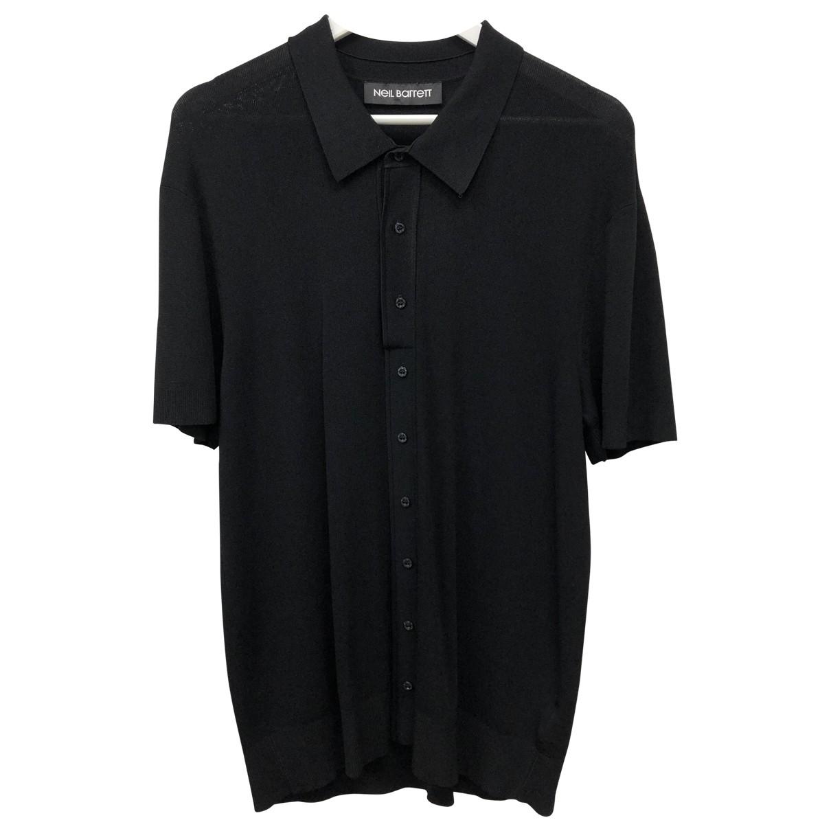 Neil Barrett N Black Polo shirts for Men XL International
